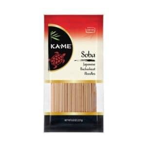 KA-ME Soba (Japanese Buckwheat) Noodles
