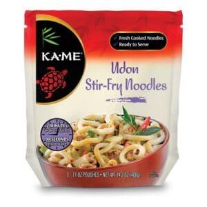 KA-ME Stir Fry Udon Noodles