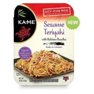 KA-ME Asian Meal Kits Noodles Sesame Teriyaki