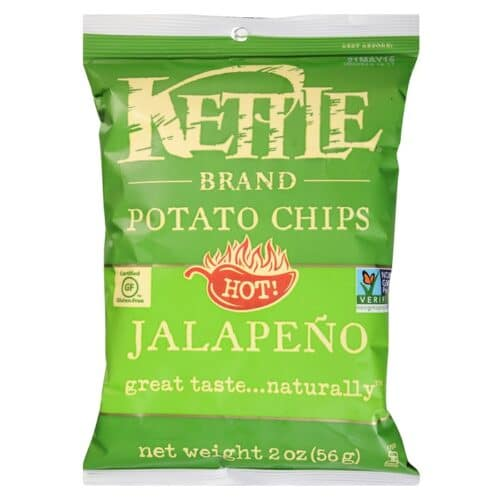 Kettle Chips Jalapeno, Small