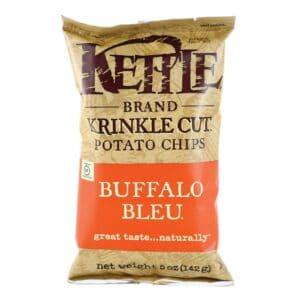 Kettle Chips Krinkle Buffalo Blue, Large