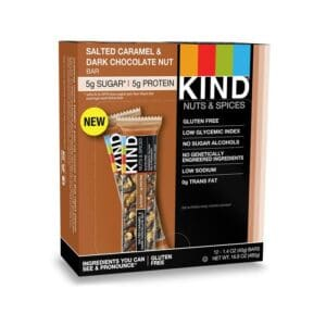 Kind Nuts & Spices Salted Caramel & Dark Chocolate Nuts