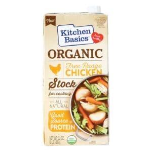 Kitchen Basic Organic Free Range Chicken Stock