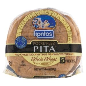 Kontos Pita Whole Wheat