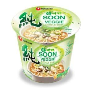 Nong Shim Soon Veggie Cup 6CT