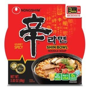 Nong Shim Microwavable Shin Bowl