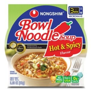 Nong Shim Microwavable Hot & Spicy Bowl