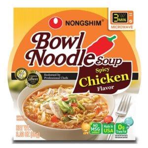 Nong Shim Microwavable Spicy Chicken
