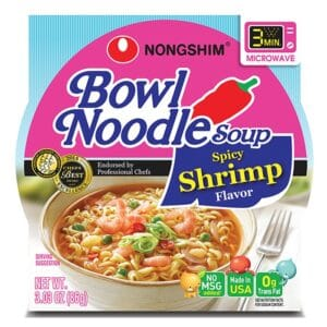 Nong Shim Microwavable Spicy Shrimp