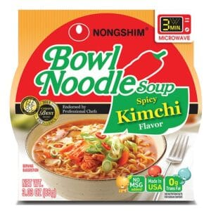 Nong Shim Microwavable Spicy Kimchi