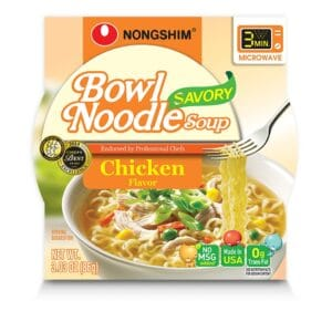 Nong Shim Microwavable Savory Chicken