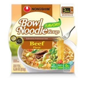 Nong Shim Microwavable Savory Beef