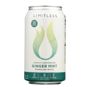 Limitless Sparkling Water Ginger Mint