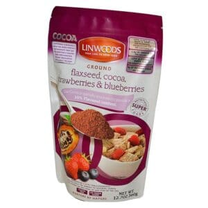 Linwoods Flaxseed, Cocoa, Strawberries & Blueberries - 7.10oz