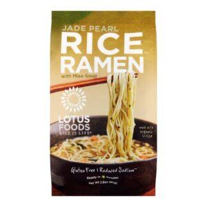 Lotus Single Serve Ramen Jade Pearl Rice w. Wakame Miso