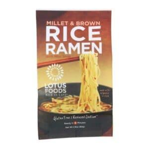 Lotus Single Serve Ramen Millet & Brown Rice w. Red Miso