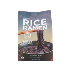 Lotus Organic Ramen 4pk Forbidden Rice