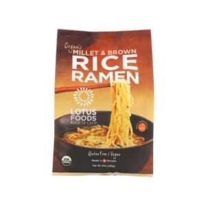 Lotus Organic Ramen 4pk Millet & Brown Rice