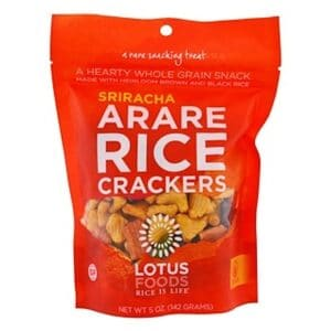 Lotus Arare Rice Cracker Sriracha