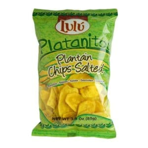 Lulu Plantain Chips Salted