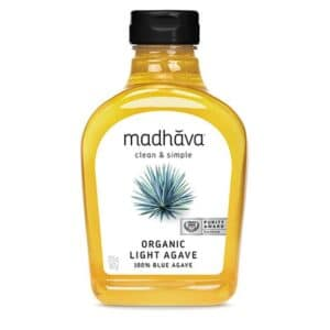 Madhava Organic Blue Agave Golden Light