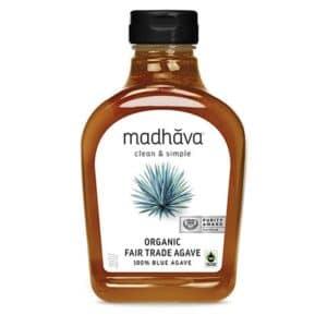 Madhava Organic Blue Agave Fair Trade Raw