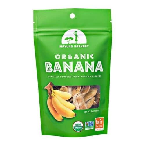 Mavuno Harvest Organic Dried Banana