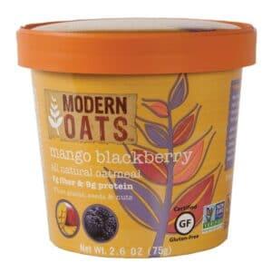 Modern Oats Oatmeal Mango Blackberry