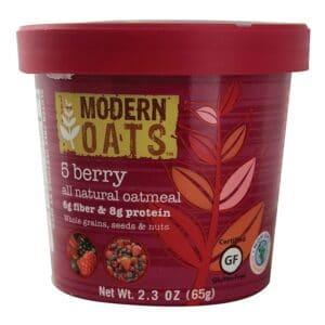 Modern Oats Oatmeal 5 Berry