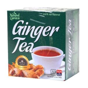 Natural Garden Ginger Tea (10 Sachets)