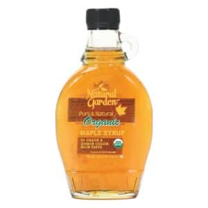 Natural Garden Organic Pure Maple Syrup [8oz]