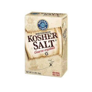Natural Nectar Kosher Salt Mediterranean Sea Salt