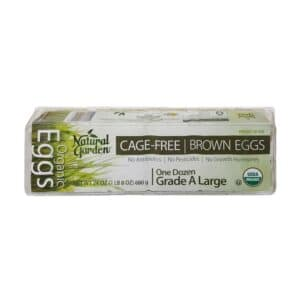 Natural Garden OG Cage-Free Brown Egg (Large, 1dz)