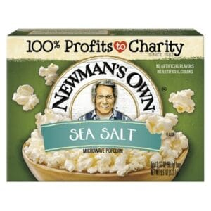 N/M Popcorn Natural (Sea Salt)