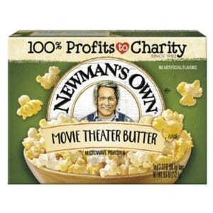N/M Popcorn Movie Theater butter