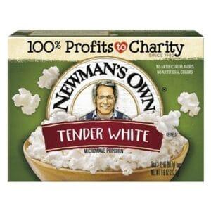 N/M Popcorn Movie Tender White