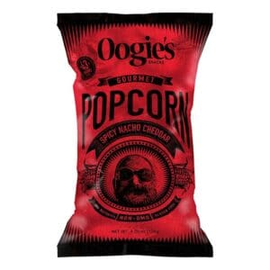 Oogie's Popcorn Spicy Nacho Cheddar