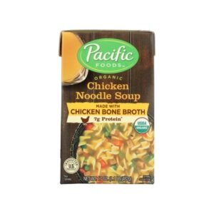 Pacific Org. Chicken Bone Broth Chicken Noodle Soup