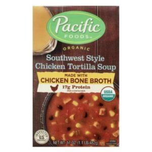 Pacific Org. Chicken Bone Broth Chicken Tortilla Soup