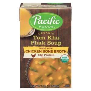 Pacific Org. Chicken Bone Broth Tom Kha Phak Soup