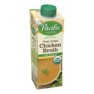 Pacific Organic 4 pack Low Sodium Chicken Broth (Small)
