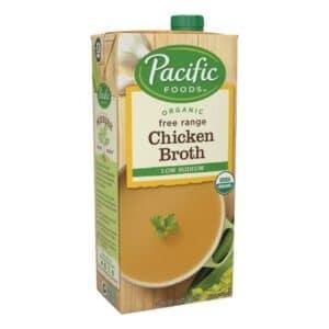 Pacific Organic Low Sodium Chicken Broth