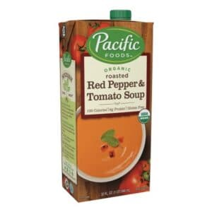 Pacific Organic Creamy Roasted Red Pepper & Tomato Soup