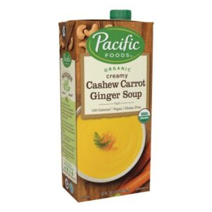 Pacific All Natural Cashew Carrot Ginger Soup