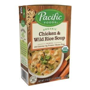 Pacific Organic Chicken & Wild Rice Soup