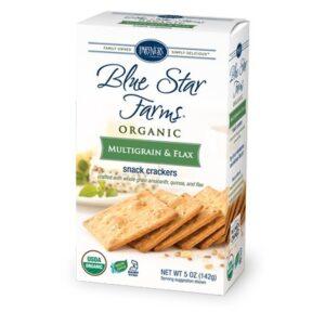 Partners Blue Star Farms Org Crackers Multi-Grain & Flax