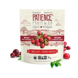Patience Org. Whole Dried Cranberries Whole & Soft