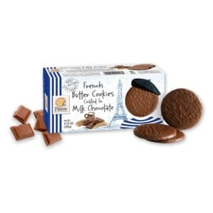 Pierre French Butter Cookies Coated w/Milk Chocolate