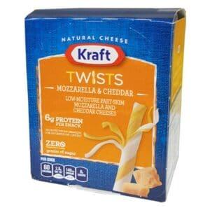 Pollyo (Kraft) Mozzarella & Cheddar String Cheese (Twist)