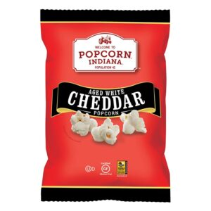 Popcorn Indiana Aged White Cheddar Kettlecorn